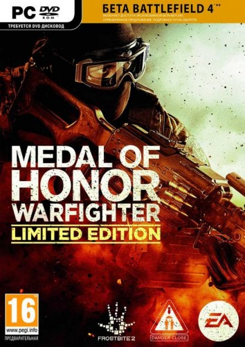 Medal of Honor Warfighter LE + BF4 BETA