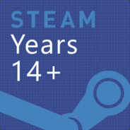 OLD STEAM ACCOUNT 12 years of service 2005 year+mail+cs