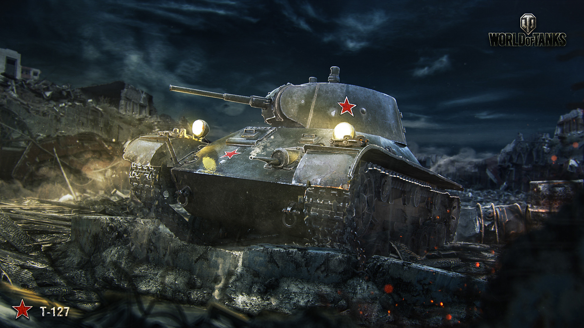 Invite World of Tanks 1450 Gold + T-127 for Beginners