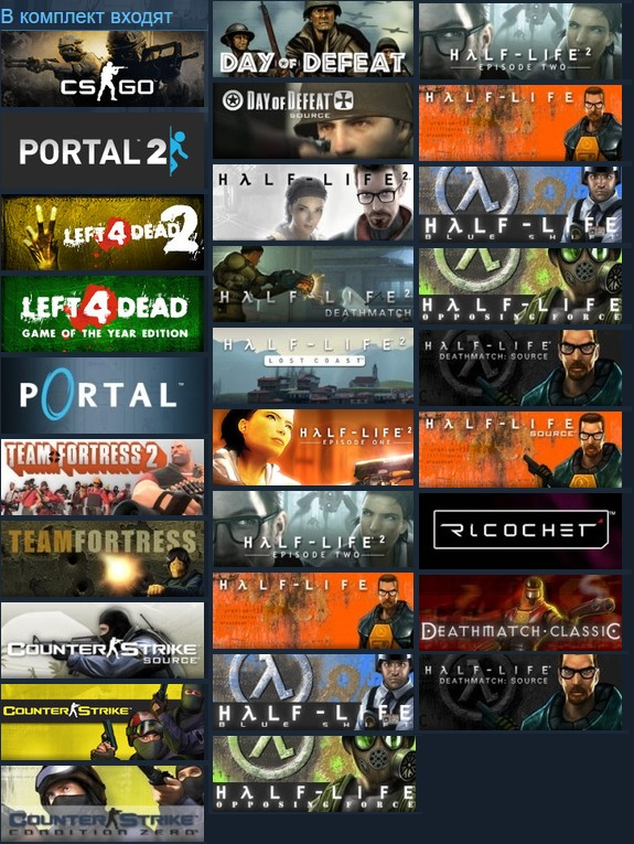 4 pack steam games how to give