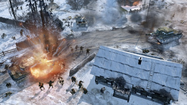 Company of Heroes 2 (Steam Rerion Fre Key) + Super Gift