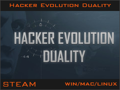 Hacker Evolution Duality (STEAM key region free)