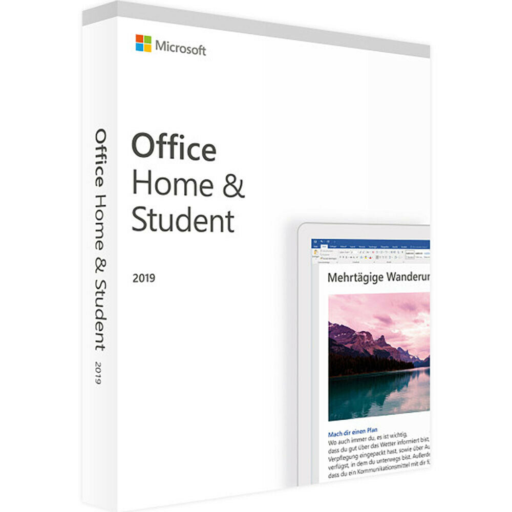 Microsoft Office Home and Student 2019 Unlimited