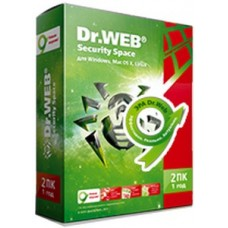 Dr.Web Security Space 2 PC 3 months + 2 mob. + Discount