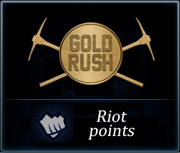 RIOT POINTS to RU server on GOLD RUSH - Best Price