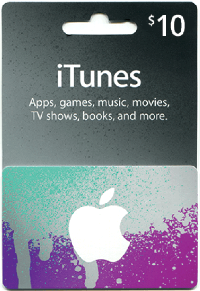 iTunes Gift Card 10 USD USA