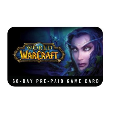 WORLD OF WARCRAFT 60 DAYS TIME CARD (US) + WOW CLASSIC