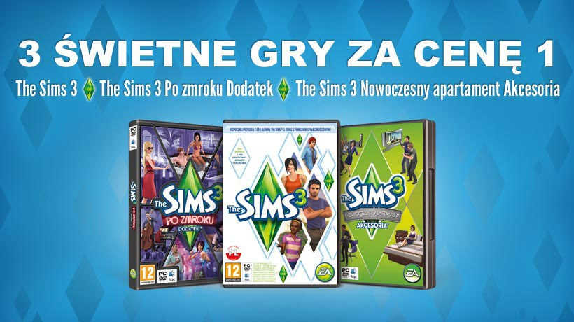 The Sims 3 Starter Pack (Origin key | Region Free)