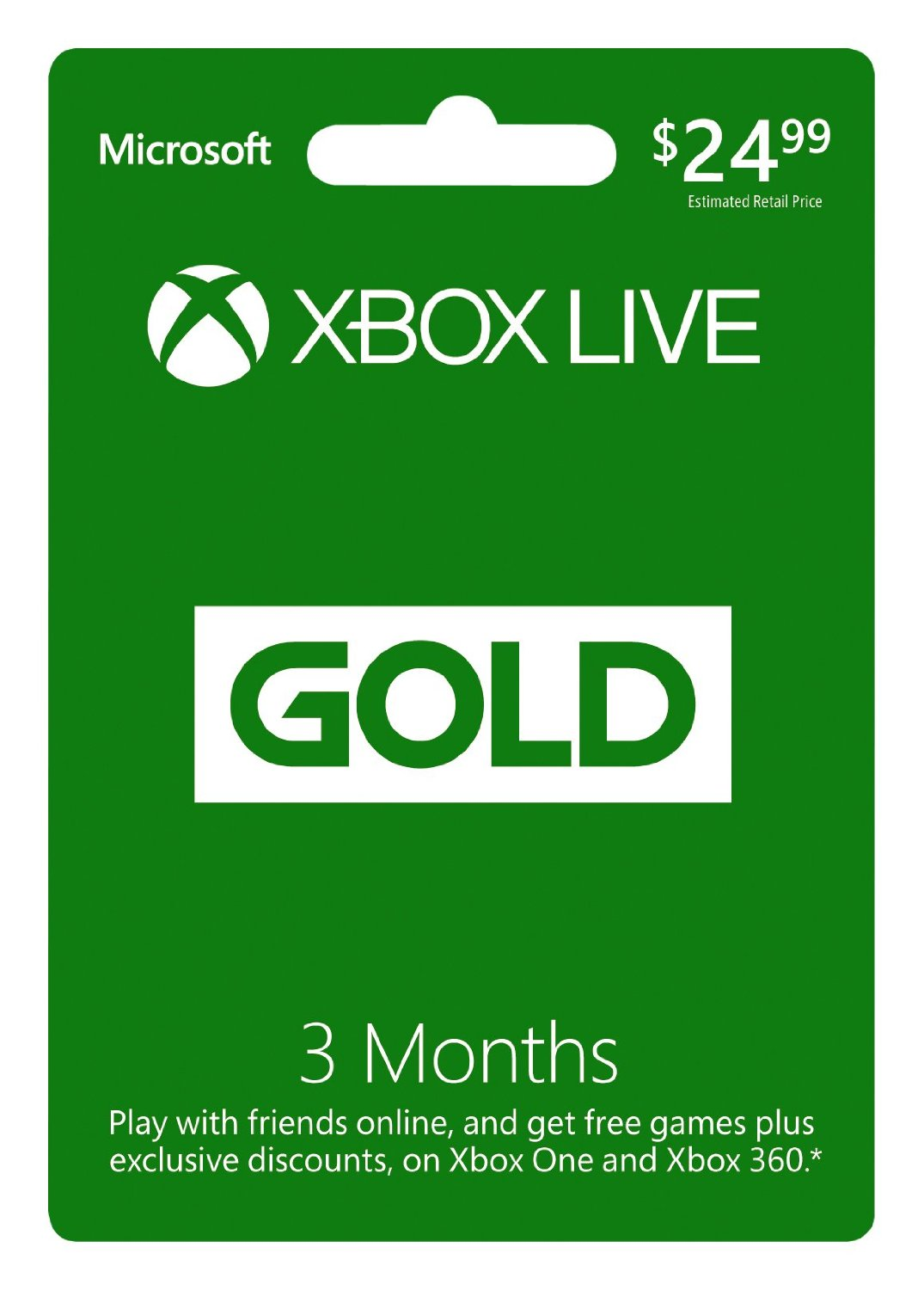 Xbox Live Gold 3 months (GLOBAL) + DISCOUNTS
