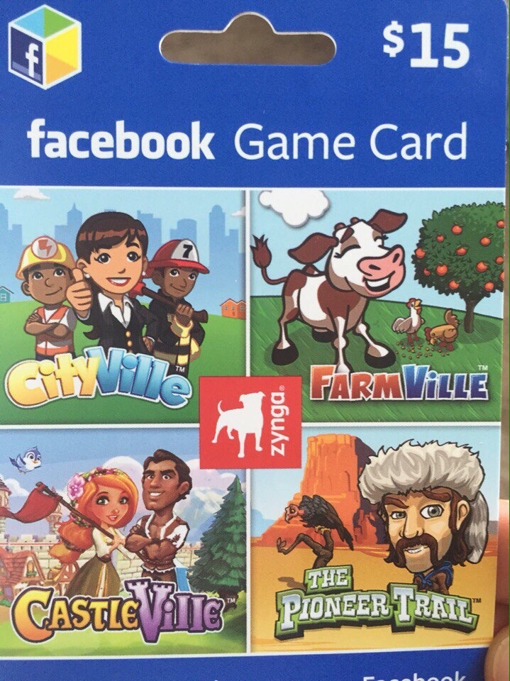 Facebook Game Card 15$ (PHOTO) + DISCOUNTS