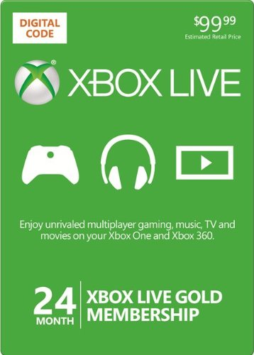 Xbox Live Gold 24 month (WORLDWIDE) + DISCOUNTS