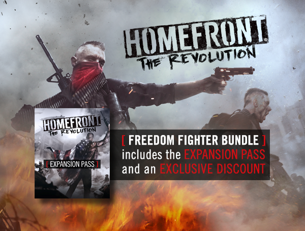 Homefront: The Revolution Freedom Fighter Bundle (ROW)