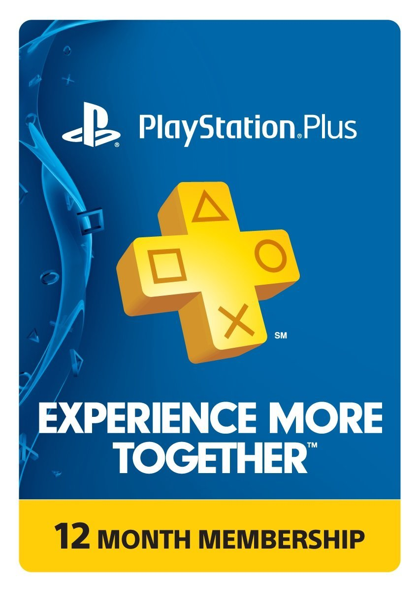 PlayStation Plus Card PSN Plus 365 days 12 months (USA)