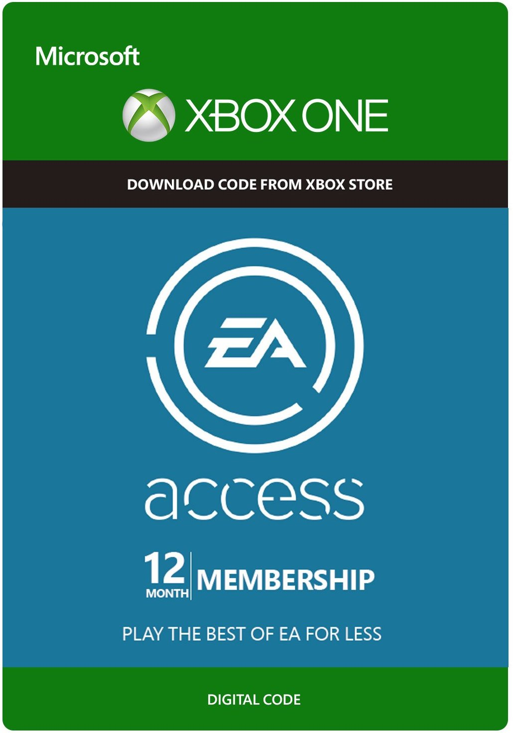 EA ACCESS 12 MONTHS XBOX ONE (GLOBAL) + DISCOUNTS