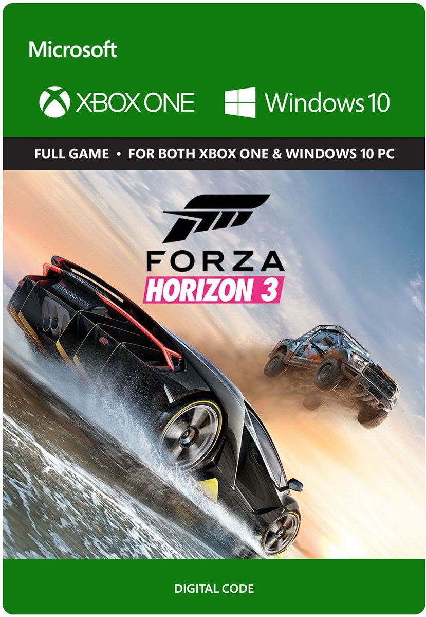 Forza Horizon 3 XBOX ONE/WINDOWS 10 (GLOBAL)+DISCOUNTS