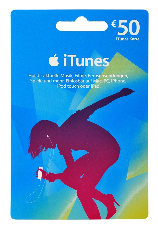 iTunes Gift Card 50 € (DE / Germany) + DISCOUNTS