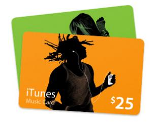 iTunes Gift Card (USA/PHOTO) 25$ + DISCOUNTS