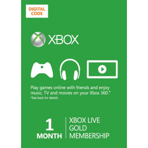 Xbox Live Gold 1 month (all countries) + DISCOUNTS