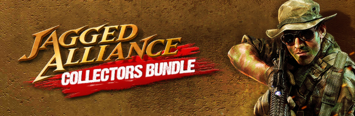 Jagged Alliance Collector's Bundle (Steam Gift)