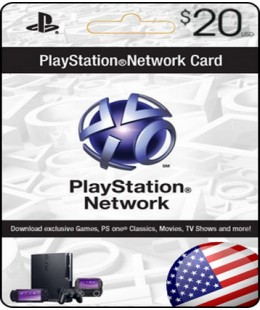 PLAYSTATION NETWORK (PSN) - $20 (USA) +СКИДКИ