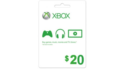 XBOX Gift Card $20 (USA) | SCAN (SCAN) CARD | DISCOUNT