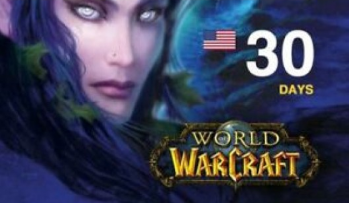 WOW Game time 30 days US  (+Wow Classic)