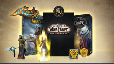 WOW Complete Collection - Heroic Edition (US/NA) +120