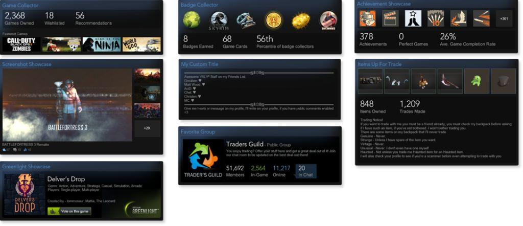 +100 experience Steam (set of trade cards)