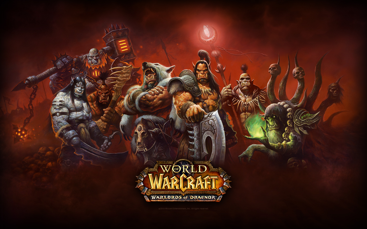 Warlords of Draenor (WoW WoD) Beta key (Beta key)