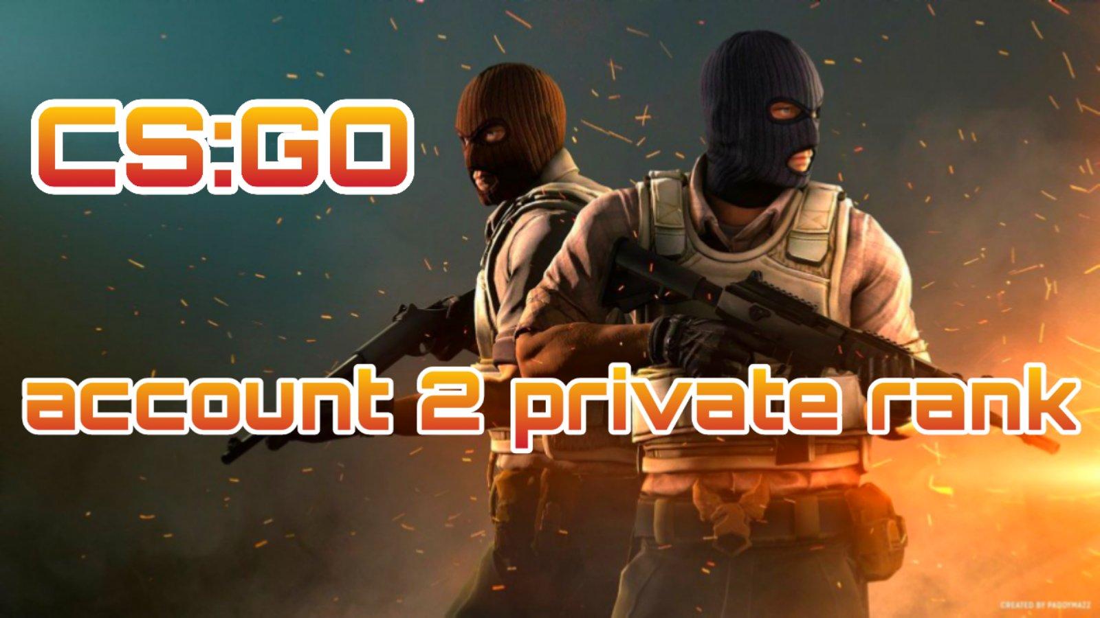 CS:GO аккаунт   2 Приват Ранг   + Родная почта