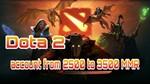 Аккаунт DOTA 2 | MMR от 2500 до 3500 рейтинга