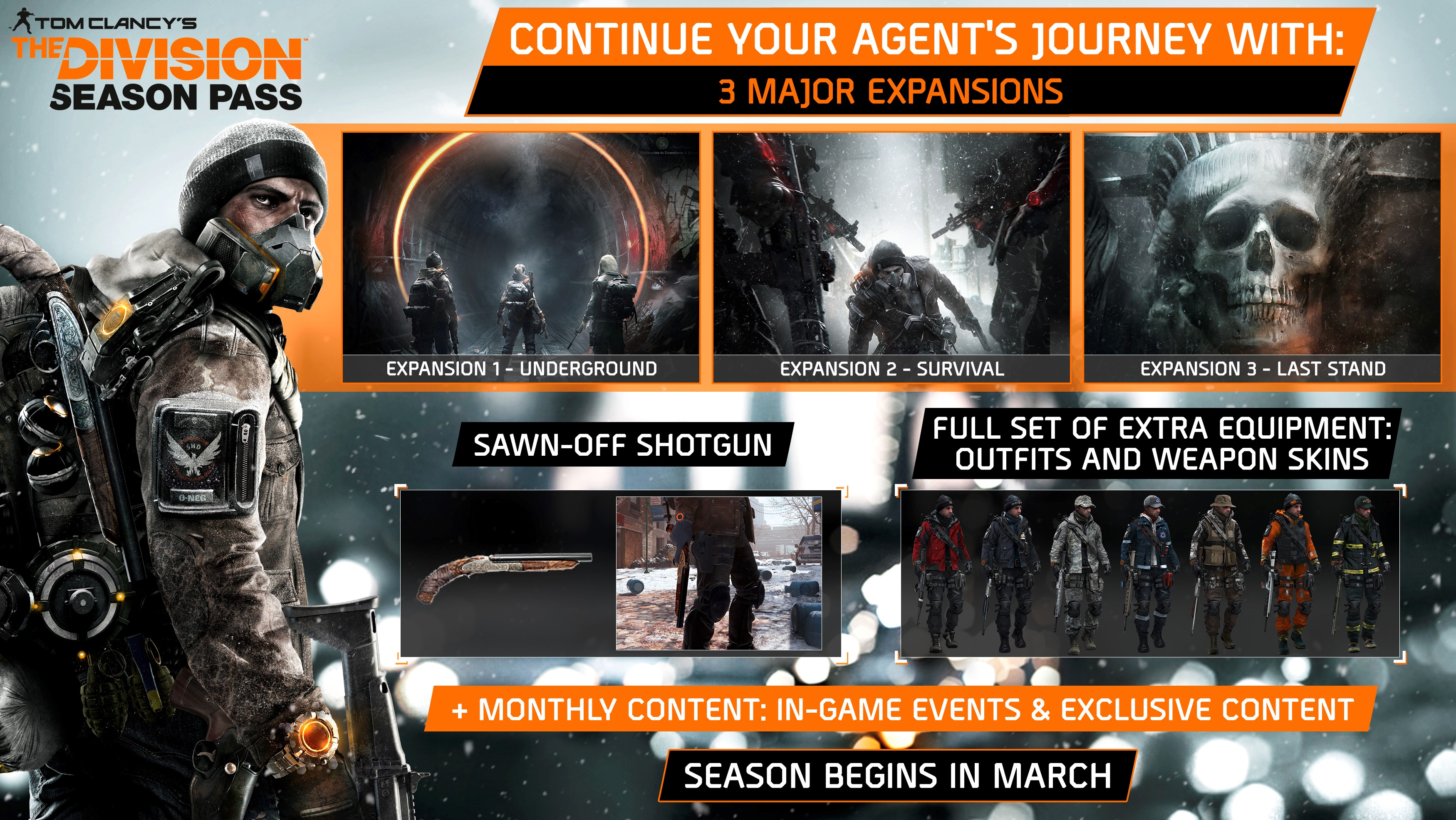 TOM CLANCY´S THE DIVISION + SEASON PASS + ВНУТРИ