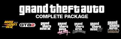 Grand Theft Auto Complete Pack(Steam gift/Region free)