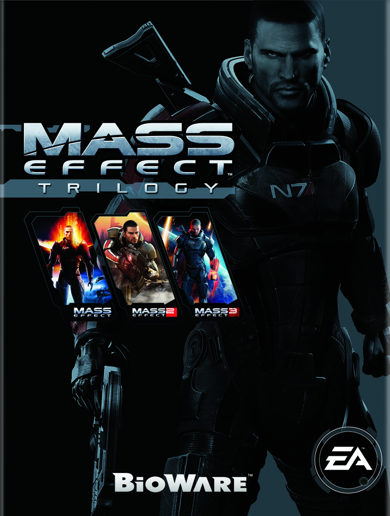 Mass Effect Trilogy (Origin/Region Free) + ПОДАРОК