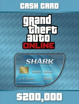 GTA Online: Tiger Shark Cash Card 200 000$ ✅