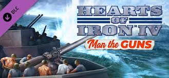 Hearts of Iron IV: Man the Guns DLC ✅ LICENSE