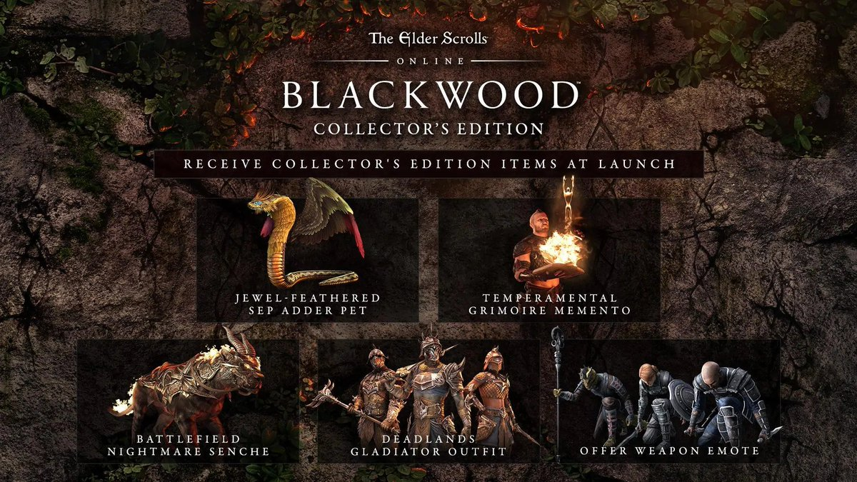 TESO: Blackwood Collector's Edition ✅(Region Free)