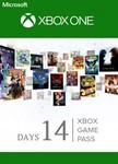 Xbox Game Pass 14 дней (XBOX ONE) ПРОДЛЕНИЕ ПОДПИСКИ