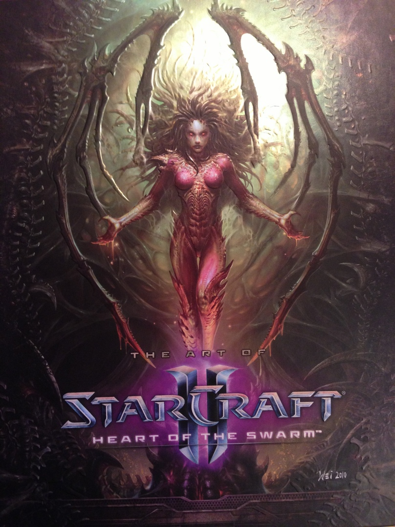 StarCraft 2 Heart of the Swarm (RUS) DELUXE BOX