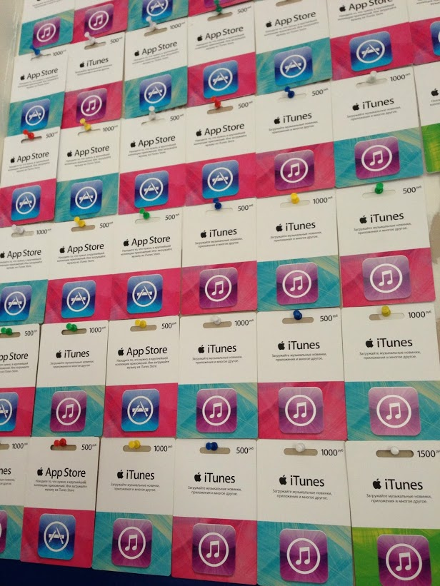 iTunes \\ AppStore Card (Russia) 1000 rubles DISCOUNTS