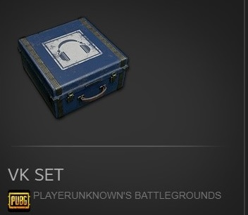 LIMITED  VK SET PUBG EXCLUSIVE BOX  [Region Free]