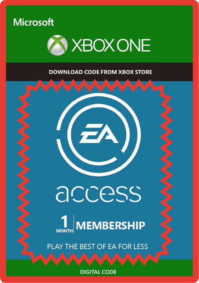 EA PLAY (EA ACCESS) 1 MONTH Xbox/ Region Free  + GIFT ✅