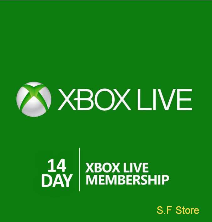 Xbox Live Gold Trial 14 days  +GAME PASS +  GIFT ✅