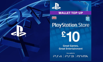PLAYSTATION NETWORK (PSN) - £10  GBP / UK  ✅+BONUS 2GBP