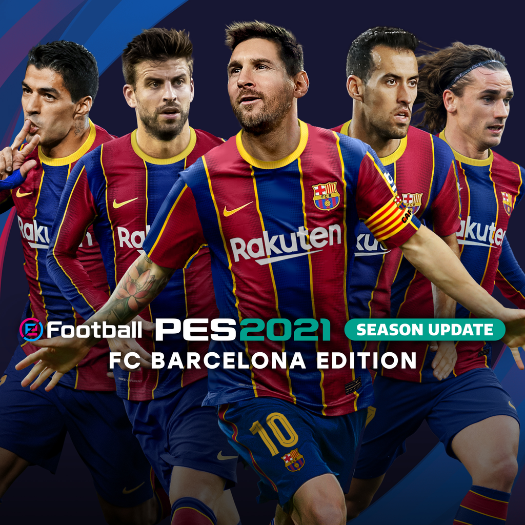 eFootball PES 2021 SEASON UPDATE: Barcelona  Edition