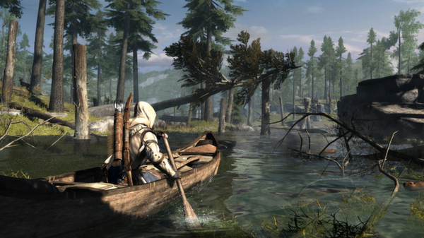 Assassins Creed 3 III Standard Edition (Steam ROW)