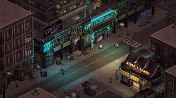 Shadowrun Returns (Steam RU/CIS)