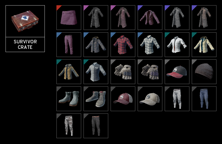 Random T-shirt 2 pcs + 2 pcs shoes [PUBG]