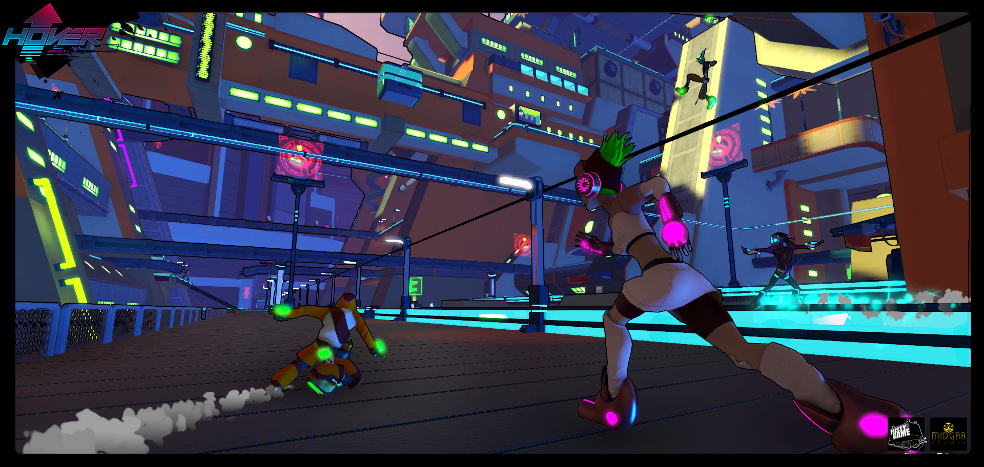 Hover : Revolt Of Gamers (Steam KEY ROW Region Free)