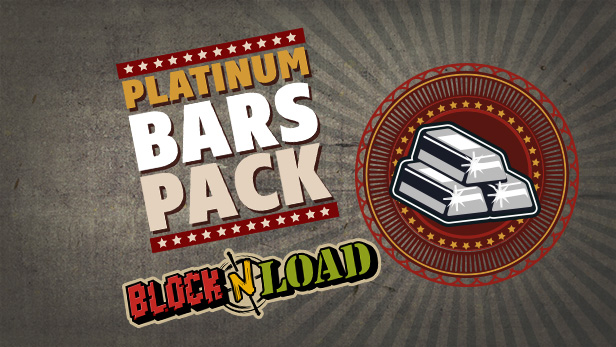 Block N Load - 560 Platinum Bar Pack DLC Steam KEY ROW
